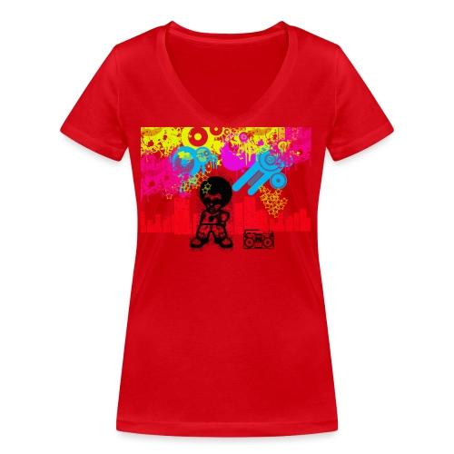 Magliette personalizzate bambini Dancefloor - T-shirt ecologica da donna con scollo a V di Stanley & Stella