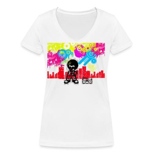 Borse personalizzate con foto Dancefloor - T-shirt ecologica da donna con scollo a V di Stanley & Stella