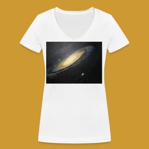 Andromeda - Mark Noble Art - Women's Organic V-Neck T-Shirt by Stanley & Stella