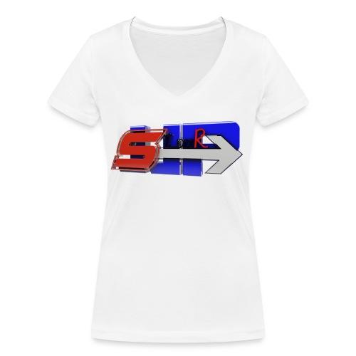 S JJP - T-shirt bio col V Stanley & Stella Femme