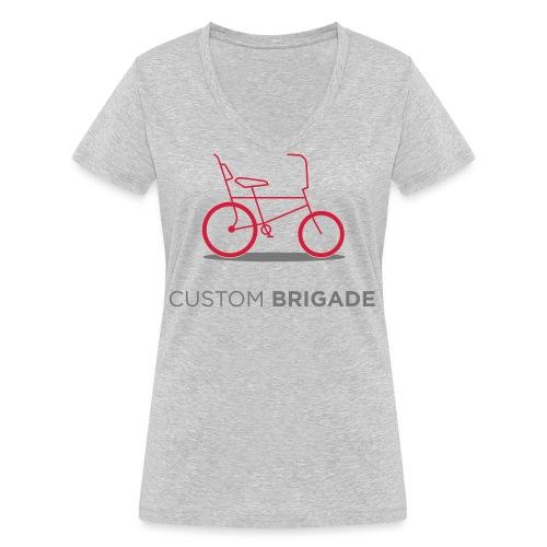 flatvelo - T-shirt bio col V Stanley & Stella Femme