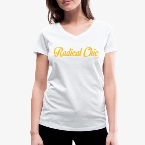 radical chic - T-shirt ecologica da donna con scollo a V di Stanley & Stella