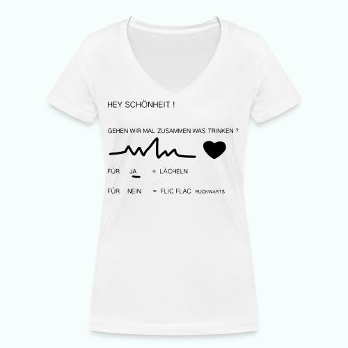 schönheit ve 1702410_1333 - Frauen Bio-T-Shirt mit V-Ausschnitt von Stanley & Stella