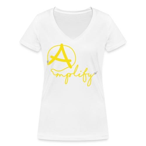 Amplify - Ekologisk T-shirt med V-ringning dam från Stanley & Stella