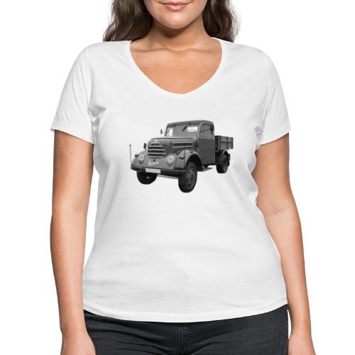 Garant K 30 Robur Zittau DDR Oldtimer Lkw - Frauen Bio-T-Shirt mit V-Ausschnitt von Stanley & Stella