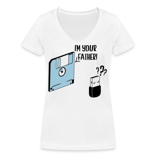 I'm your father - T-shirt bio col V Stanley & Stella Femme
