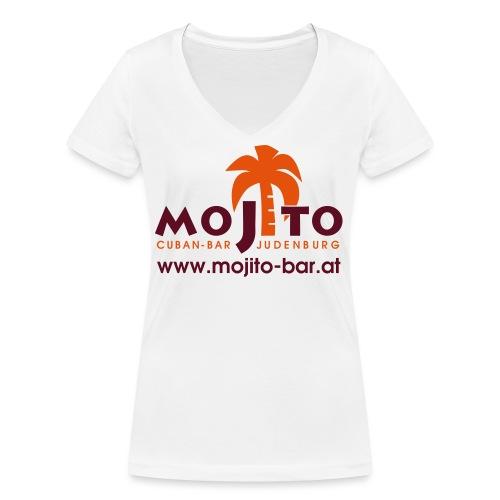 Mojito Logo - Frauen Bio-T-Shirt mit V-Ausschnitt von Stanley & Stella