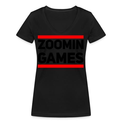 9815 2CRUN ZG - Women's Organic V-Neck T-Shirt by Stanley & Stella
