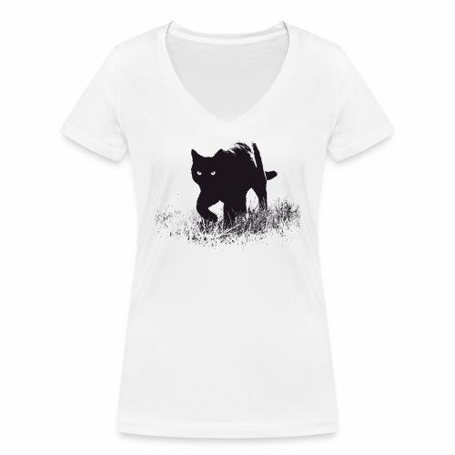 Timo - Frauen Bio-T-Shirt mit V-Ausschnitt von Stanley & Stella