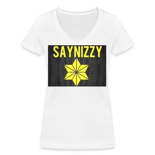 Say nizzy - Women's Organic V-Neck T-Shirt by Stanley & Stella