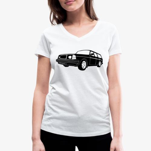 Volle 245 Estate - Women's Organic V-Neck T-Shirt by Stanley & Stella