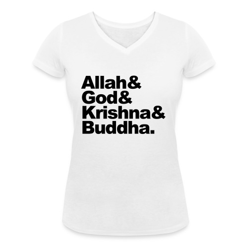godsdiensten - Vrouwen bio T-shirt met V-hals van Stanley & Stella