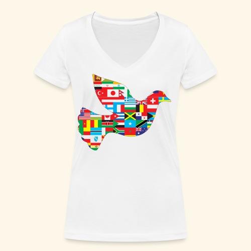 countrys t-shirt - Camiseta ecológica mujer con cuello de pico de Stanley & Stella