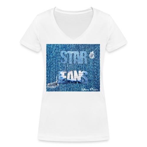 JEANS STAR PRICE - Women's Organic V-Neck T-Shirt by Stanley & Stella