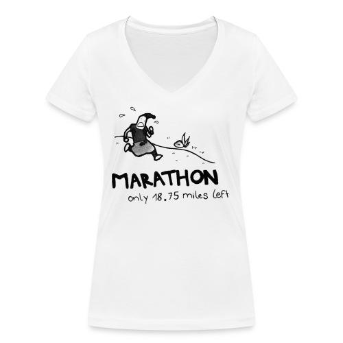 marathon-png - Ekologiczna koszulka damska z dekoltem w serek Stanley & Stella