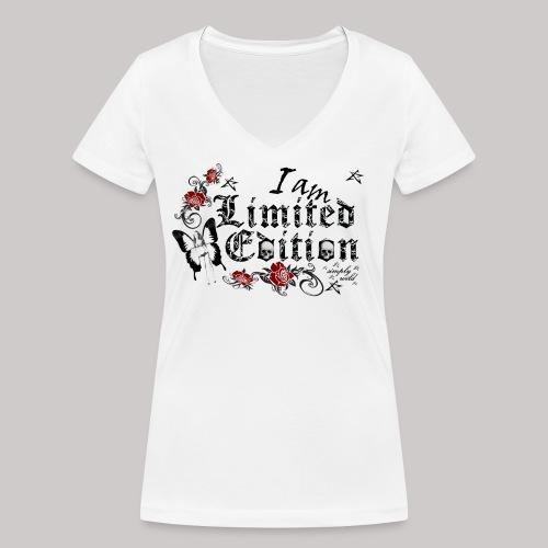 simply wild limited Edition on white - Frauen Bio-T-Shirt mit V-Ausschnitt von Stanley & Stella
