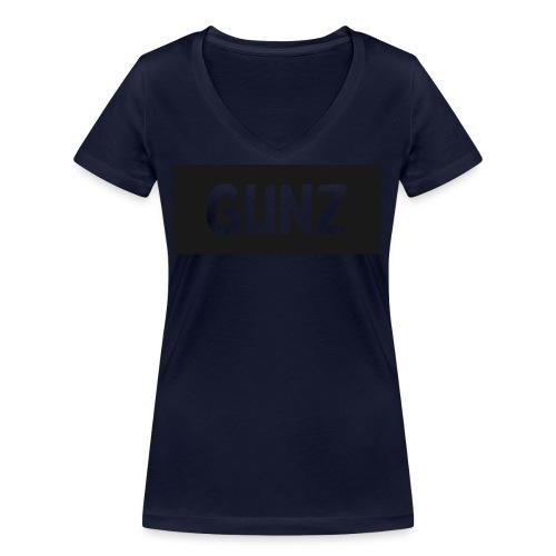 Gunz - Økologisk Stanley & Stella T-shirt med V-udskæring til damer