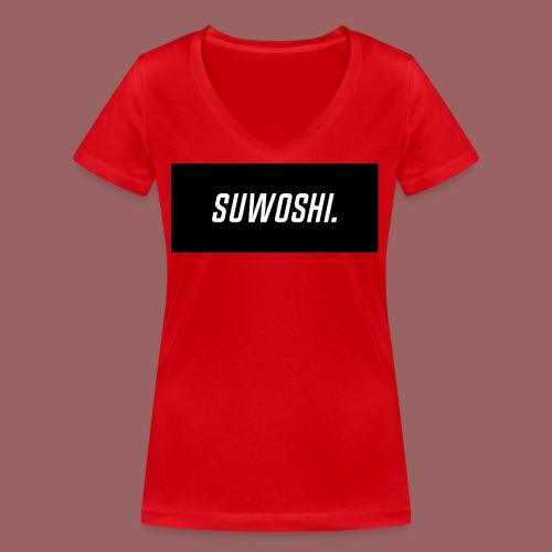 Suwoshi Sport - Vrouwen bio T-shirt met V-hals van Stanley & Stella