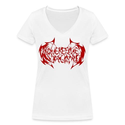 ARV Logo rosso - T-shirt ecologica da donna con scollo a V di Stanley & Stella