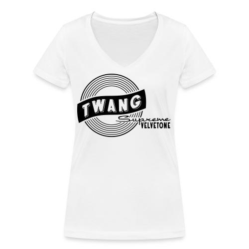 Velvetone Twang Supreme #3 - Frauen Bio-T-Shirt mit V-Ausschnitt von Stanley & Stella