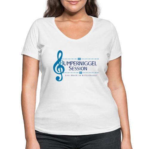 Bumperniggel Session - Frauen Bio-T-Shirt mit V-Ausschnitt von Stanley & Stella