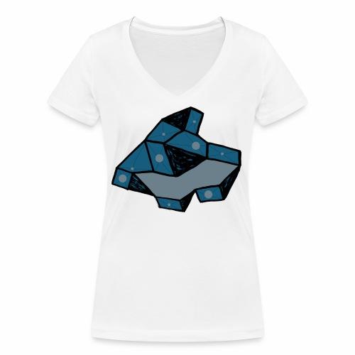 dot rock - Vrouwen bio T-shirt met V-hals van Stanley & Stella