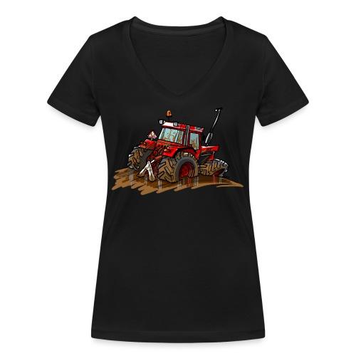 IH in de blub - Vrouwen bio T-shirt met V-hals van Stanley & Stella