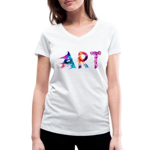 Art - T-shirt bio col V Stanley & Stella Femme
