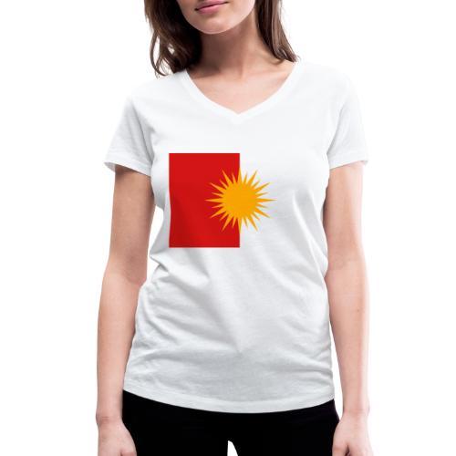 Yeziden T-Shirt Ezidi,Shingal,Şingal - Frauen Bio-T-Shirt mit V-Ausschnitt von Stanley & Stella