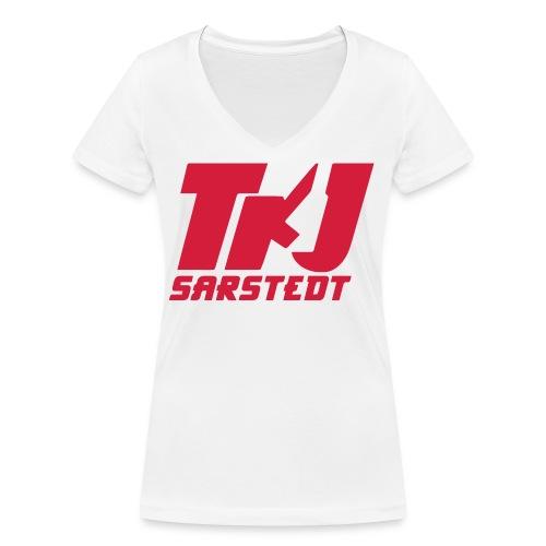 TKJ_logo_2 - Frauen Bio-T-Shirt mit V-Ausschnitt von Stanley & Stella