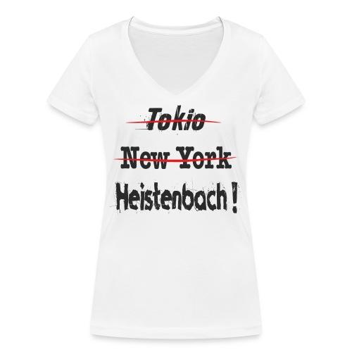 65558 Heistenbach - Frauen Bio-T-Shirt mit V-Ausschnitt von Stanley & Stella