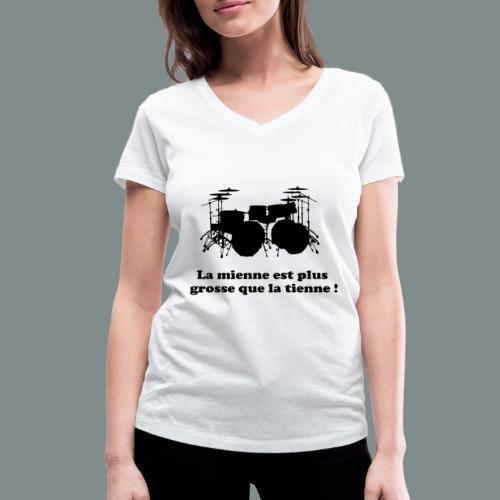 La mienne est plus grosse - T-shirt bio col V Stanley & Stella Femme