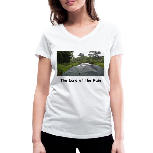 The Lord of the Rain - Neuseeland - Regenschirme - Frauen Bio-T-Shirt mit V-Ausschnitt von Stanley & Stella