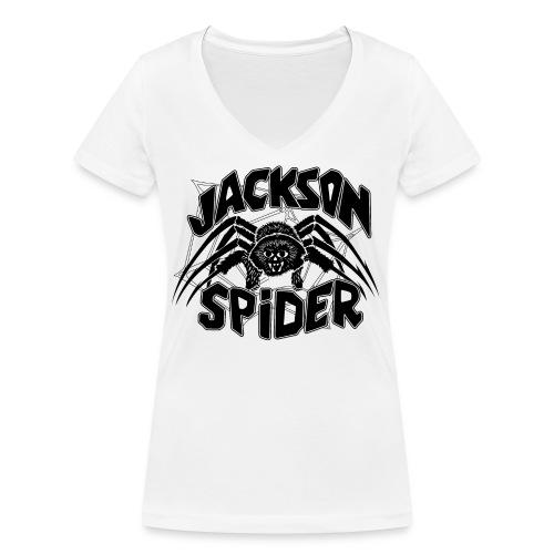 jackson spreadshirt - Frauen Bio-T-Shirt mit V-Ausschnitt von Stanley & Stella