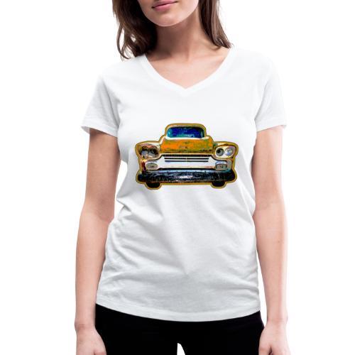 Car - Frauen Bio-T-Shirt mit V-Ausschnitt von Stanley & Stella