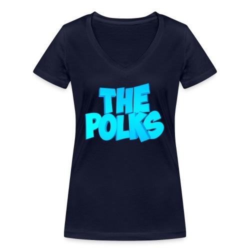 THEPolks - Camiseta ecológica mujer con cuello de pico de Stanley & Stella