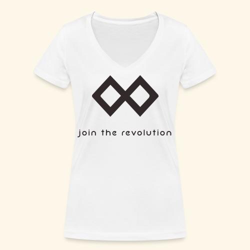 TenX - Frauen Bio-T-Shirt mit V-Ausschnitt von Stanley & Stella