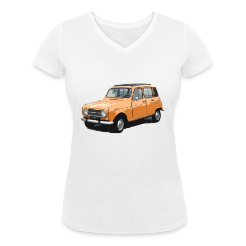 My Fashion 4l - T-shirt bio col V Stanley & Stella Femme