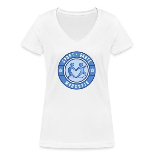 MYOSOTIS - T-shirt bio col V Stanley & Stella Femme