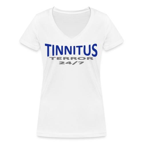terror - Økologisk T-skjorte med V-hals for kvinner fra Stanley & Stella