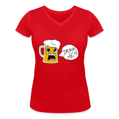 Bière - T-shirt bio col V Stanley & Stella Femme