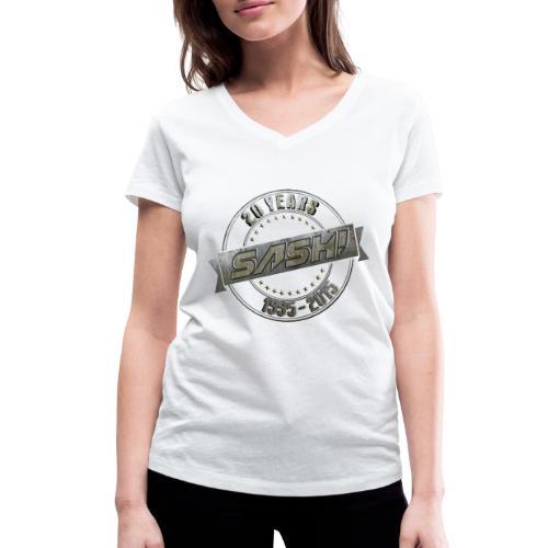 SASH! *** 20 Years *** - Women's Organic V-Neck T-Shirt by Stanley & Stella