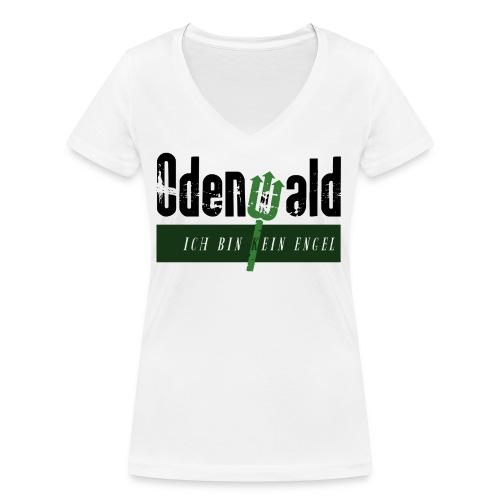 Odenwald - kein Engel - Frauen Bio-T-Shirt mit V-Ausschnitt von Stanley & Stella