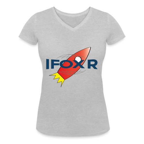 IFOX ROCKET - Ekologisk T-shirt med V-ringning dam från Stanley & Stella