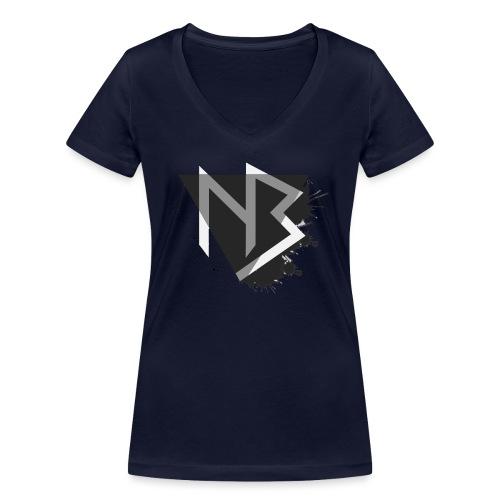 Cappellino NiKyBoX - T-shirt ecologica da donna con scollo a V di Stanley & Stella