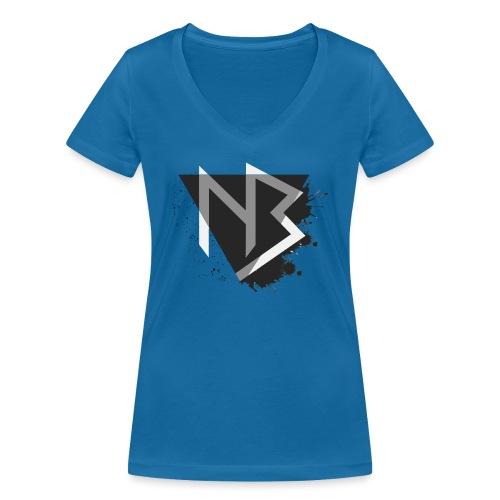 T-shirt NiKyBoX - T-shirt ecologica da donna con scollo a V di Stanley & Stella