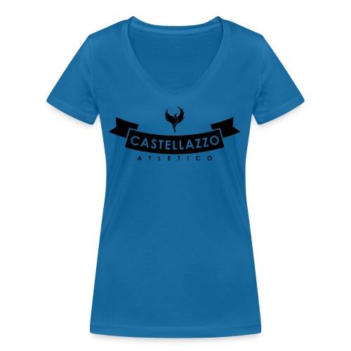 Elegante - T-shirt ecologica da donna con scollo a V di Stanley & Stella