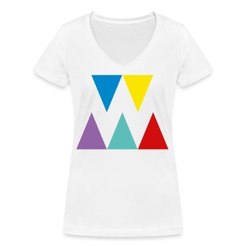 Logo We are les filles - T-shirt bio col V Stanley & Stella Femme