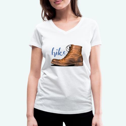 Hike - Frauen Bio-T-Shirt mit V-Ausschnitt von Stanley & Stella