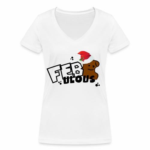 WeihnachtsMerch - Frauen Bio-T-Shirt mit V-Ausschnitt von Stanley & Stella